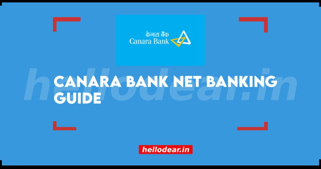 canara bank internet banking portal