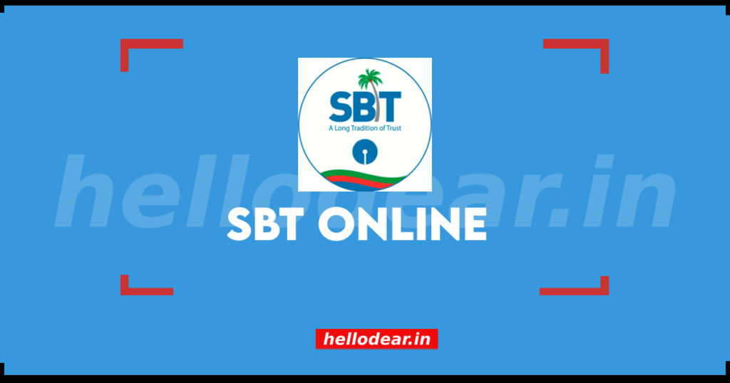 SBT net banking guide