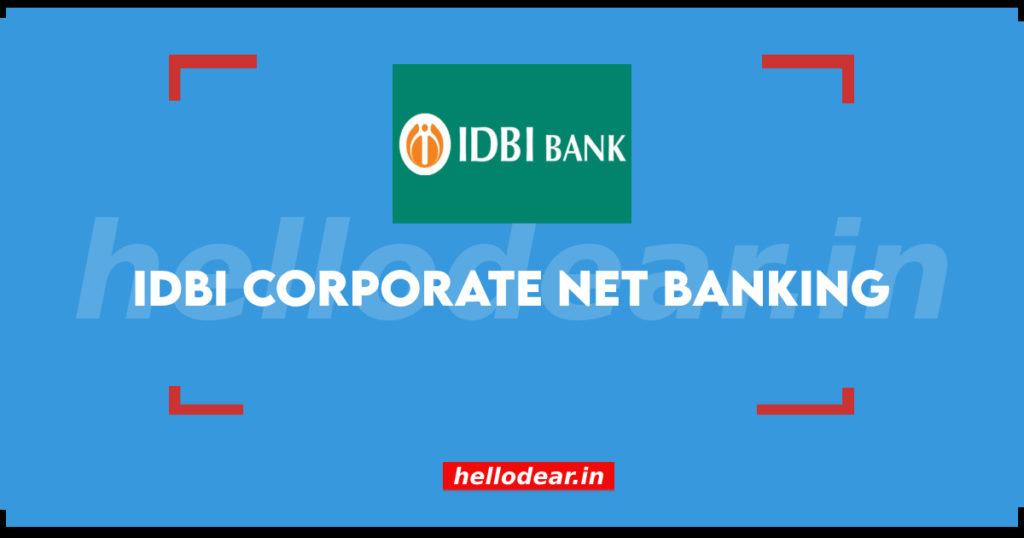 corporate banking idbi