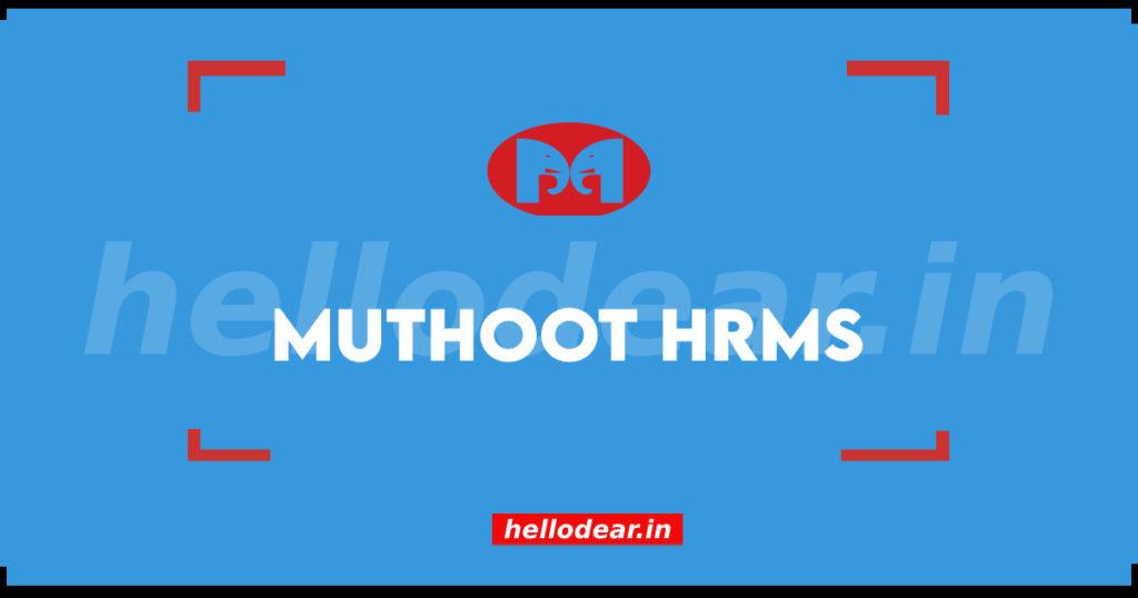 muthoot hrms login