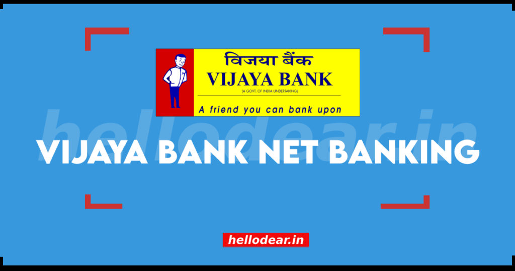 vijaya bank net banking login